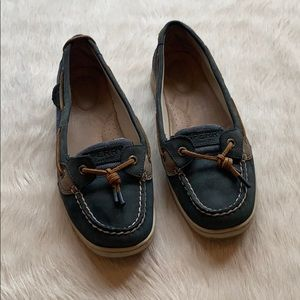 SPERRY: Navy Top Siders size 7.5